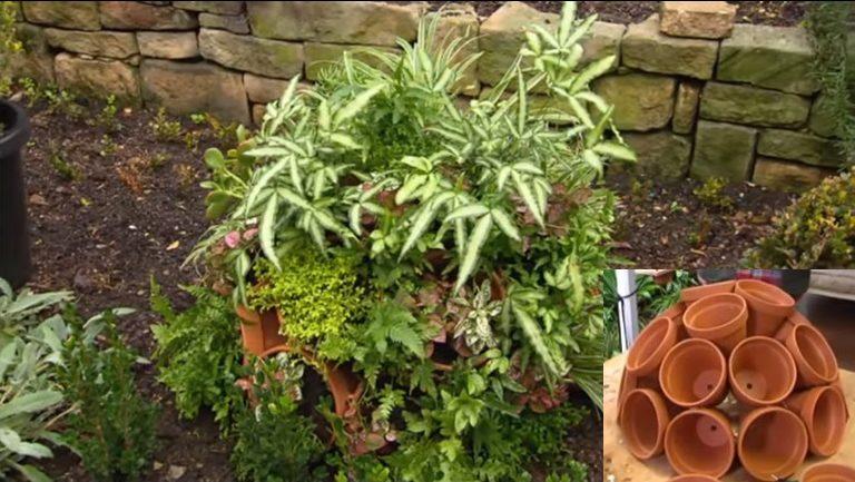 Urobte si originálny guľový kvetináč, ktorý oživí vašu záhradu