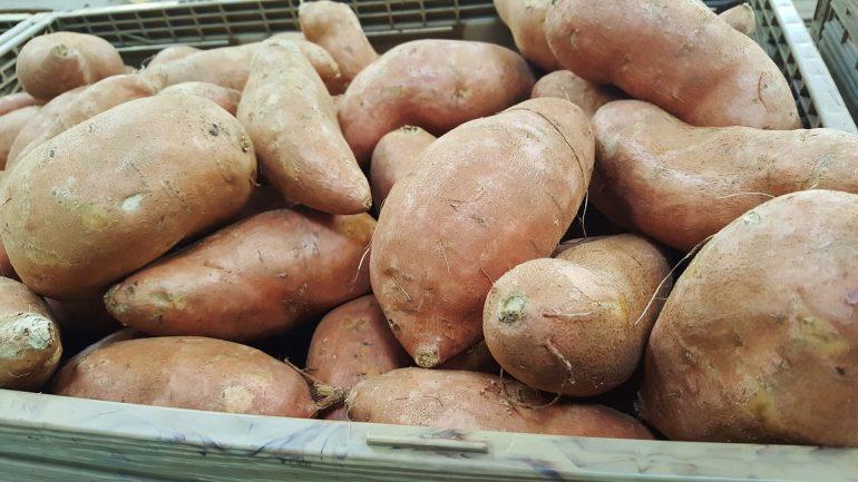sladké zemiaky, batáty