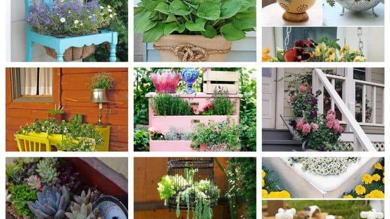 Záhradné inšpirácie: Vdýchnite starým veciam nový život