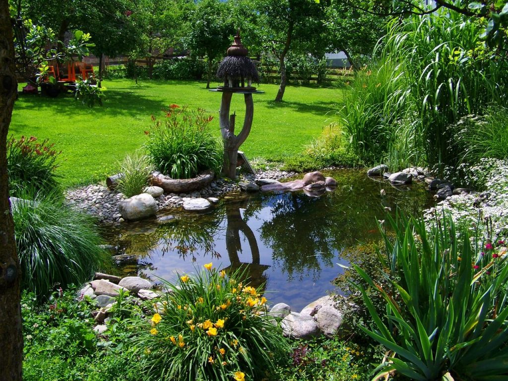 jazierko súkromie na záhrade