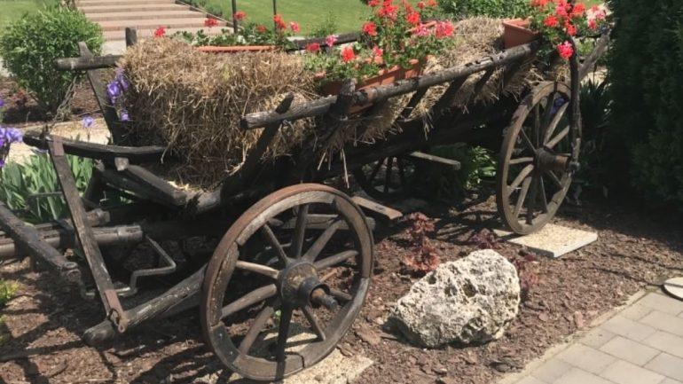 Okrasná zahradka a dekoračné kvetináče