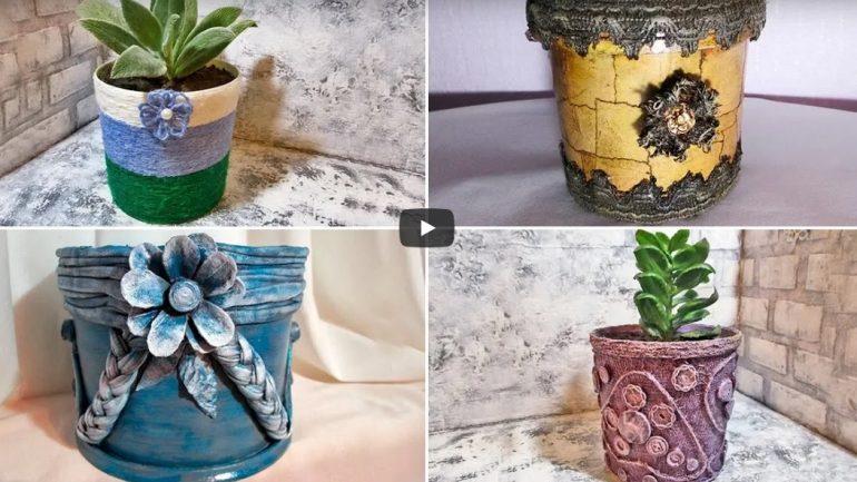 VIDEO: 8 tipov, ako vyrobiť originálny kvetináč
