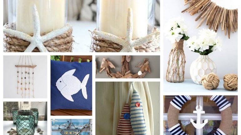 Námornícke dekorácie na vašu chatu a dom