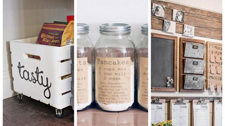 10 nápadov pre originálne úložné priestory na vašej chate