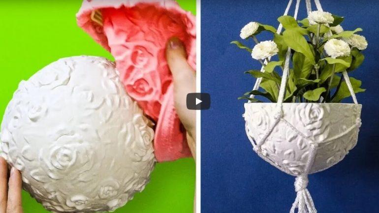18 jednoduchých dekorácií nielen zo sadry na vašu chatu či záhradu