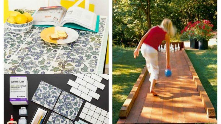 7 brilatných spôsobov, ako prerobiť podlahové dlaždice