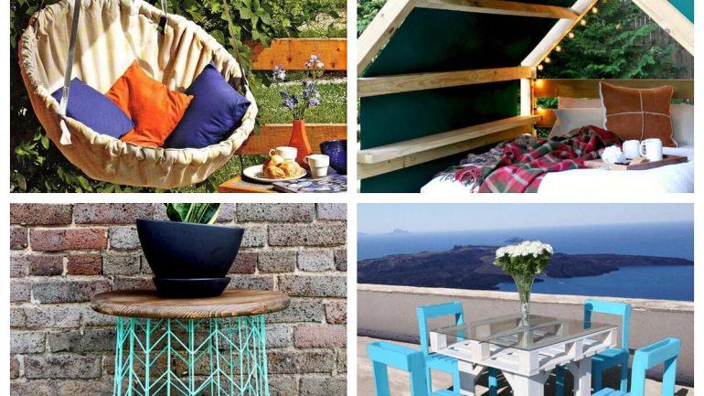 Inšpirácie na vonkajší nábytok na vašu chatu