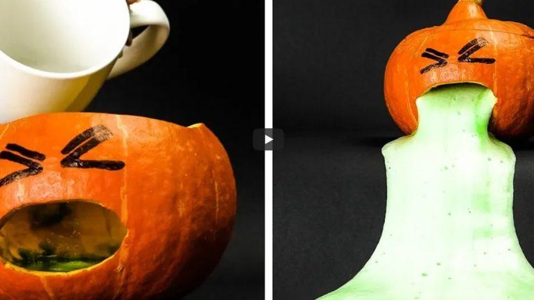Video: Strašidelné halloweenske dekorácie