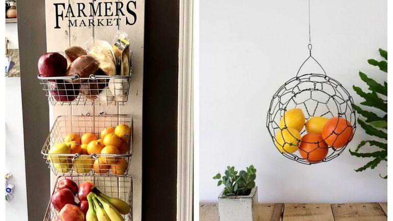 7 nápadov pre organizovanejšie uskladnenie zeleniny a ovocia vo vašej kuchyni