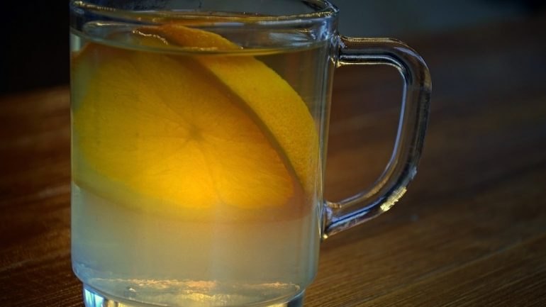 citrónový sirup