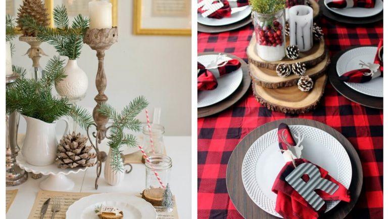 Sofistikované dekorácie na sviatočný stôl