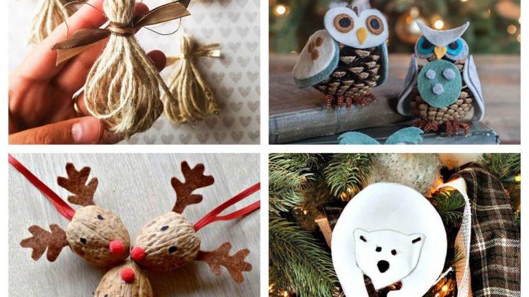 15 rustikálnych vianočných ozdôb, ktoré vyčaria tie pravé Vianoce