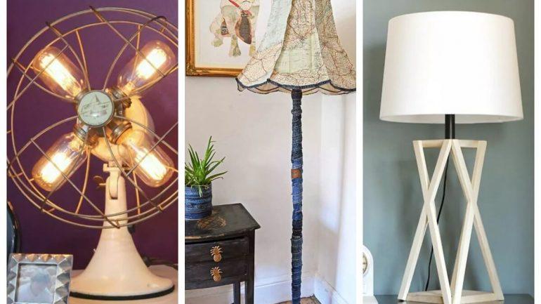 10 výborných nápadov na výrobu vlastných nočných lámp