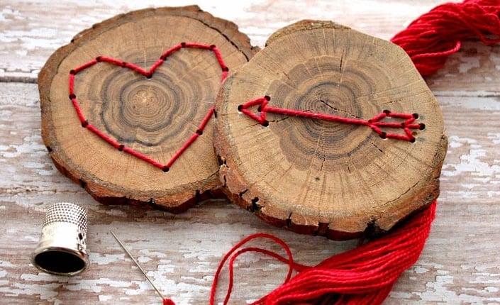 Úžasne inšpirácie z drevených kruhov na vašu chatu či záhradu