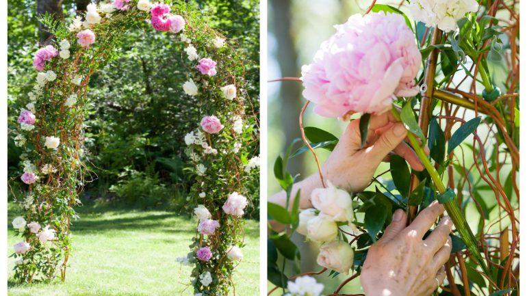 Vyrobte si záhradný svadobný altánok už za jeden deň!