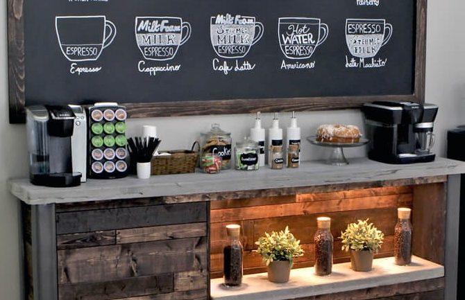 Inšpirácie na domácu kaviareň