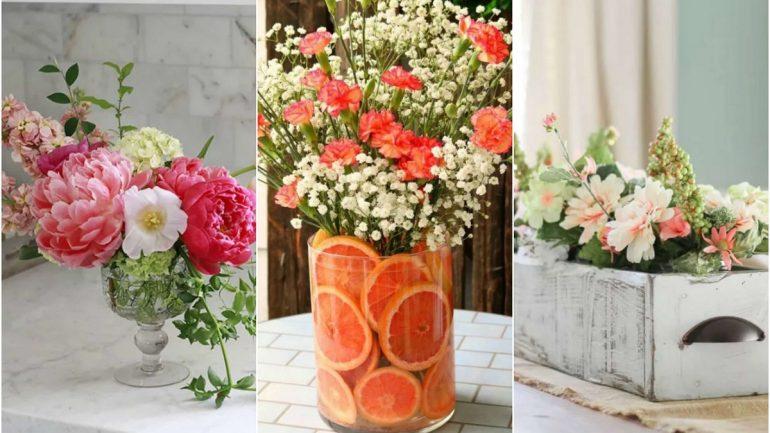 Kreatívne nápady na aranžovanie kvetín z vašej záhrady