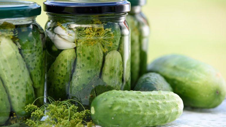 diétne uhorky