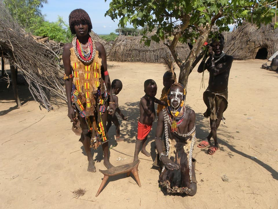 ľudia v Etiópii