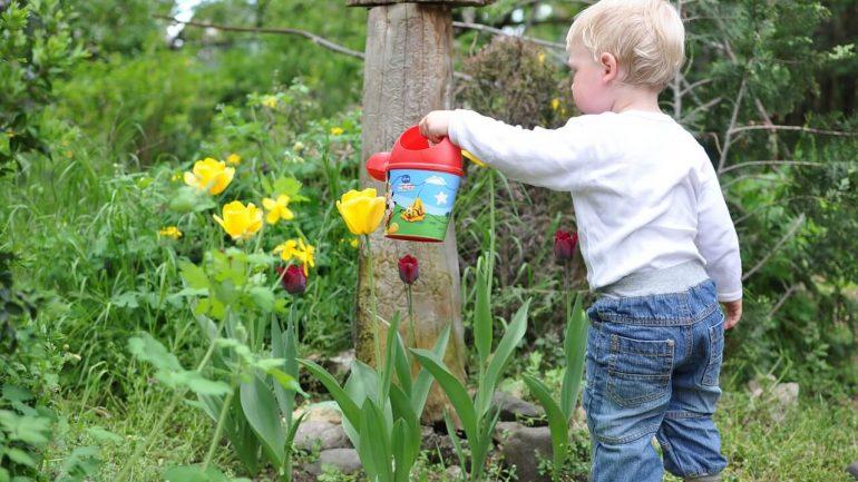 Deti na záhrade: 46 tipov, ako zapojiť našich najmenších do hospodárskych prác