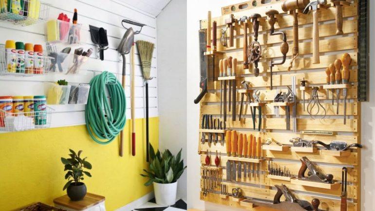 10 nápadov pre dokonale zorganizovanú garáž