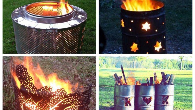 7 úžasných nápadov, ako recyklovať staré sudy na pálenie odpadu
