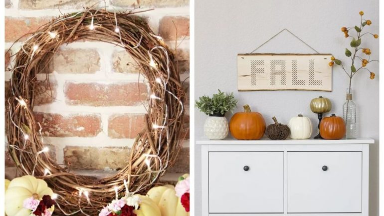 Pripravte si svoj domov na jeseň: 7 nápadov na vkusné dekorácie