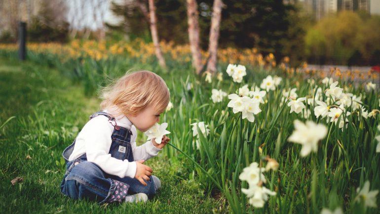 ako dostanete do záhrady deti