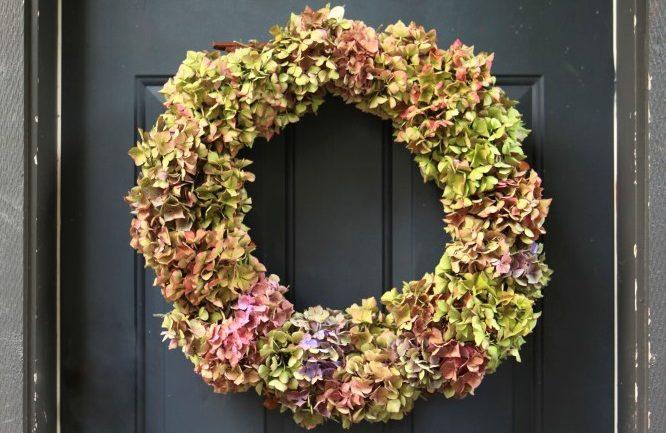 tipy na jesenné vence na dvere