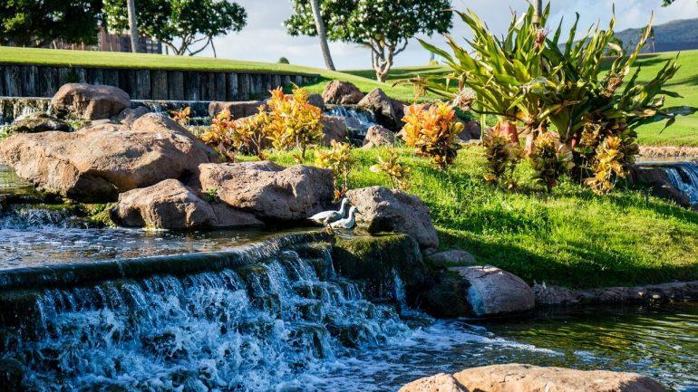 Jazero s vodopádom: 6 rád, ako si ho vytvoriť, časť II