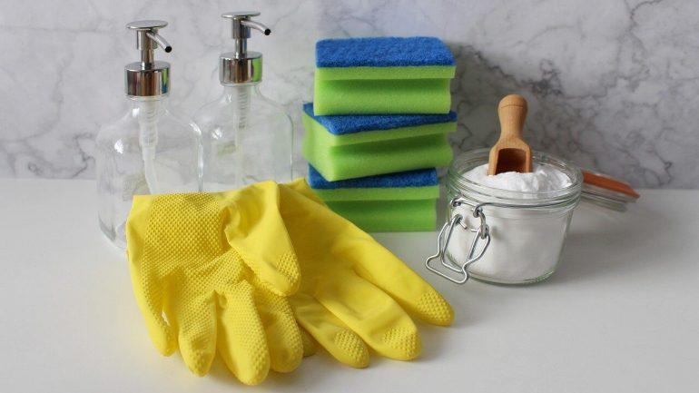 ako si pripraviť čistiace prostriedky