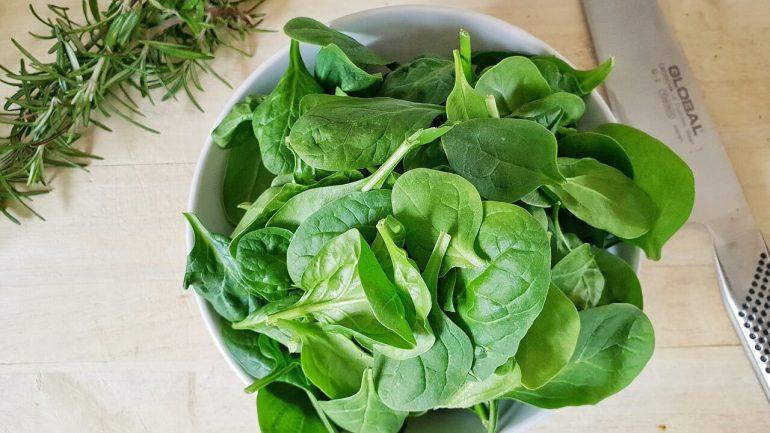 špenát a jeho benefity na naše zdravie