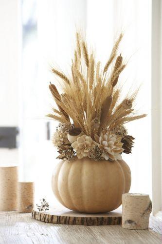 Váza so sušenými kvetmi