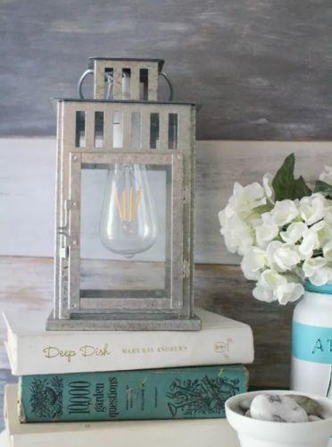 Lampa zo starého lampáša.