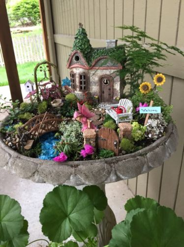 Malé rozprávkové kráľovstvo na vašej terase