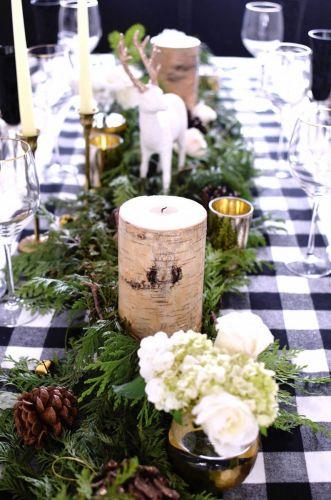 Originálna dekorácia na váš vianočný stôl
