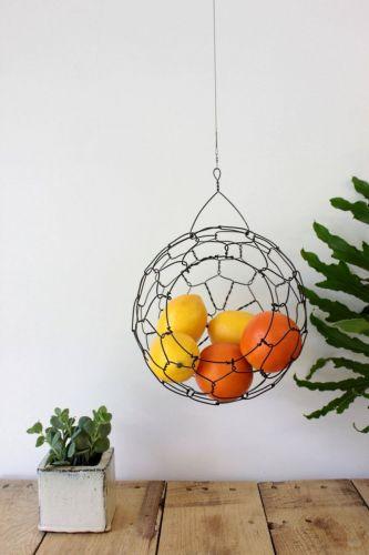 Drôtená sieťka na ovocie
