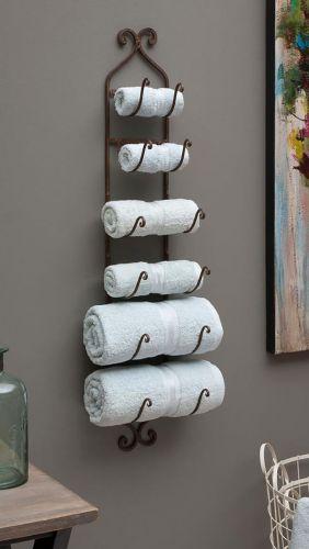 Ďalší nápad ako uložiť uteráky