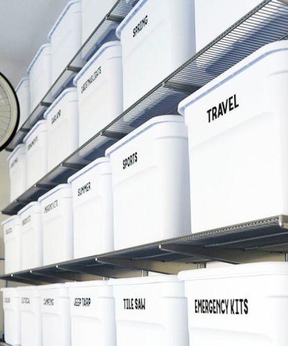 Boxy pre lepšiu organizáciu garáže
