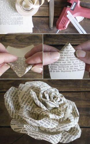 Papierová ruža