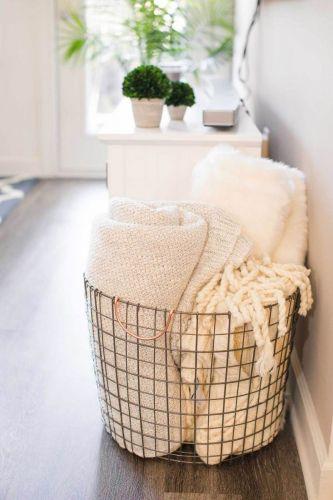 Štýlový kôš na uteráky