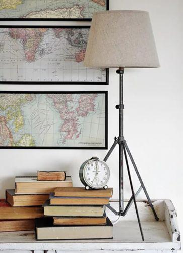 Aj zo stojanu na noty sa dá urobiť lampa.