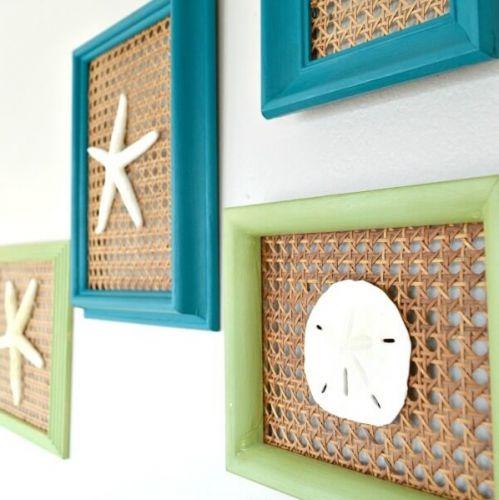 Námornícke dekorácie na vašu chatu.