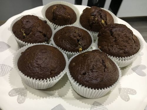 Recept na vynikajúce čokoládové muffiny