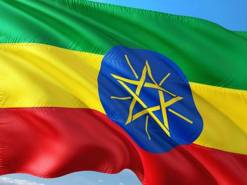 etiópska vlajka, zdroj: pixabay.com